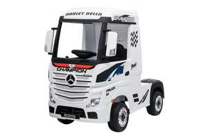 12V Licensed Mercedes Artic Truck White