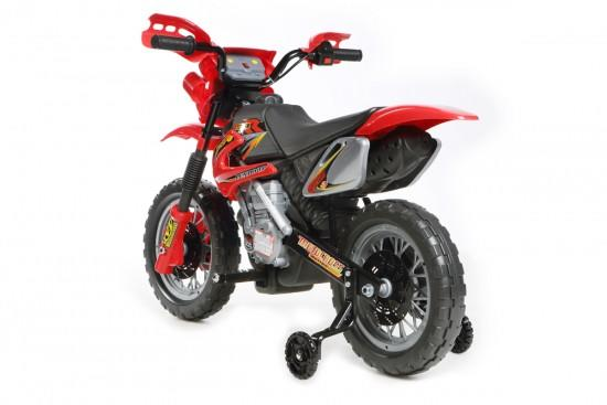 Red Mini Motocross - 6V Kids' Electric Ride On Bike