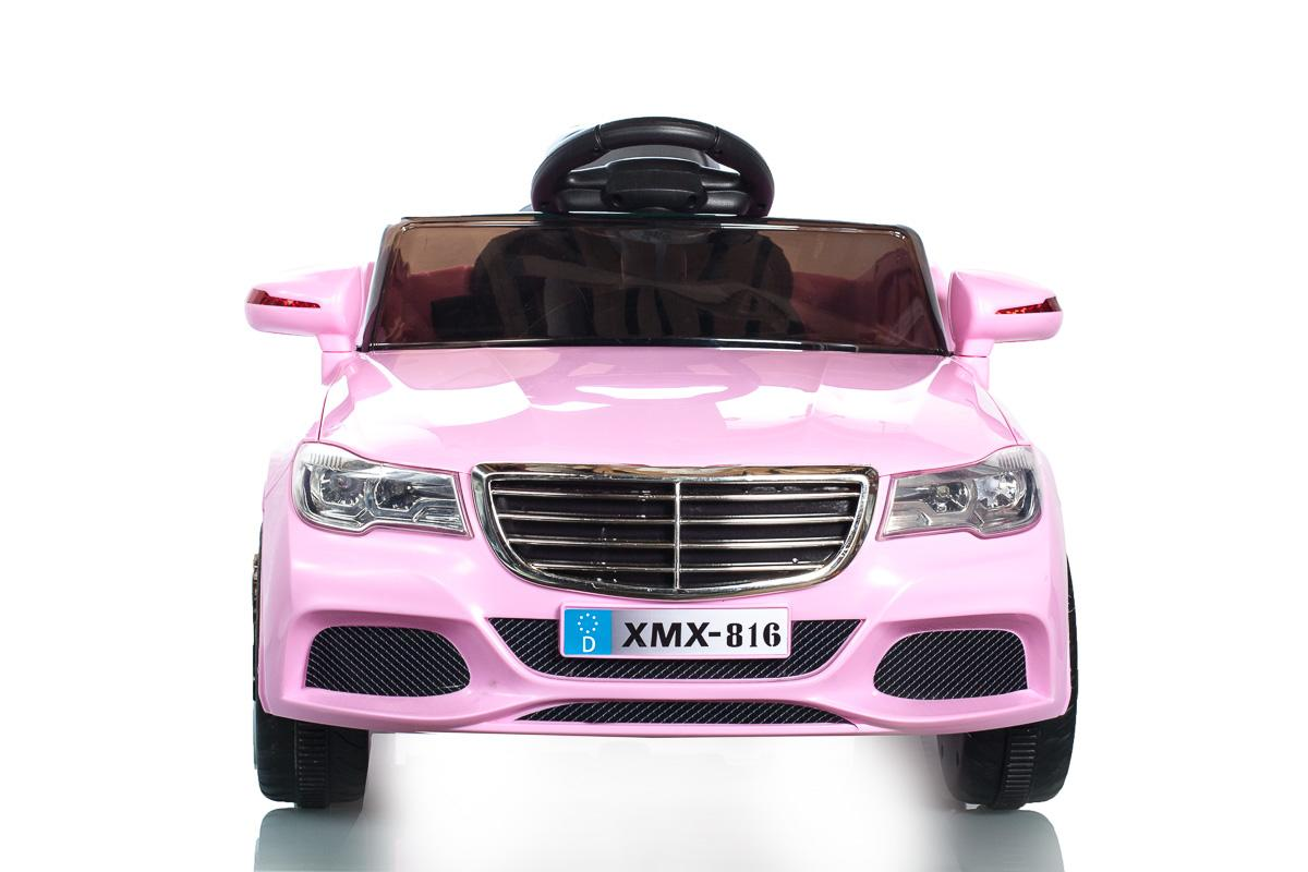 Pink C Class Saloon - 12V Kids' Electric Ride On Car