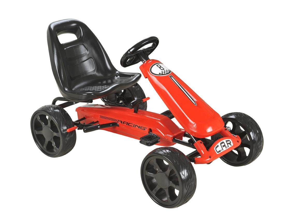 Red Pedal Sports Kart with EVA wheels