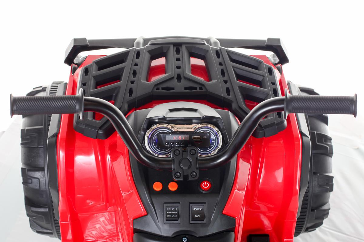 12V Twin Motor Quad - Red