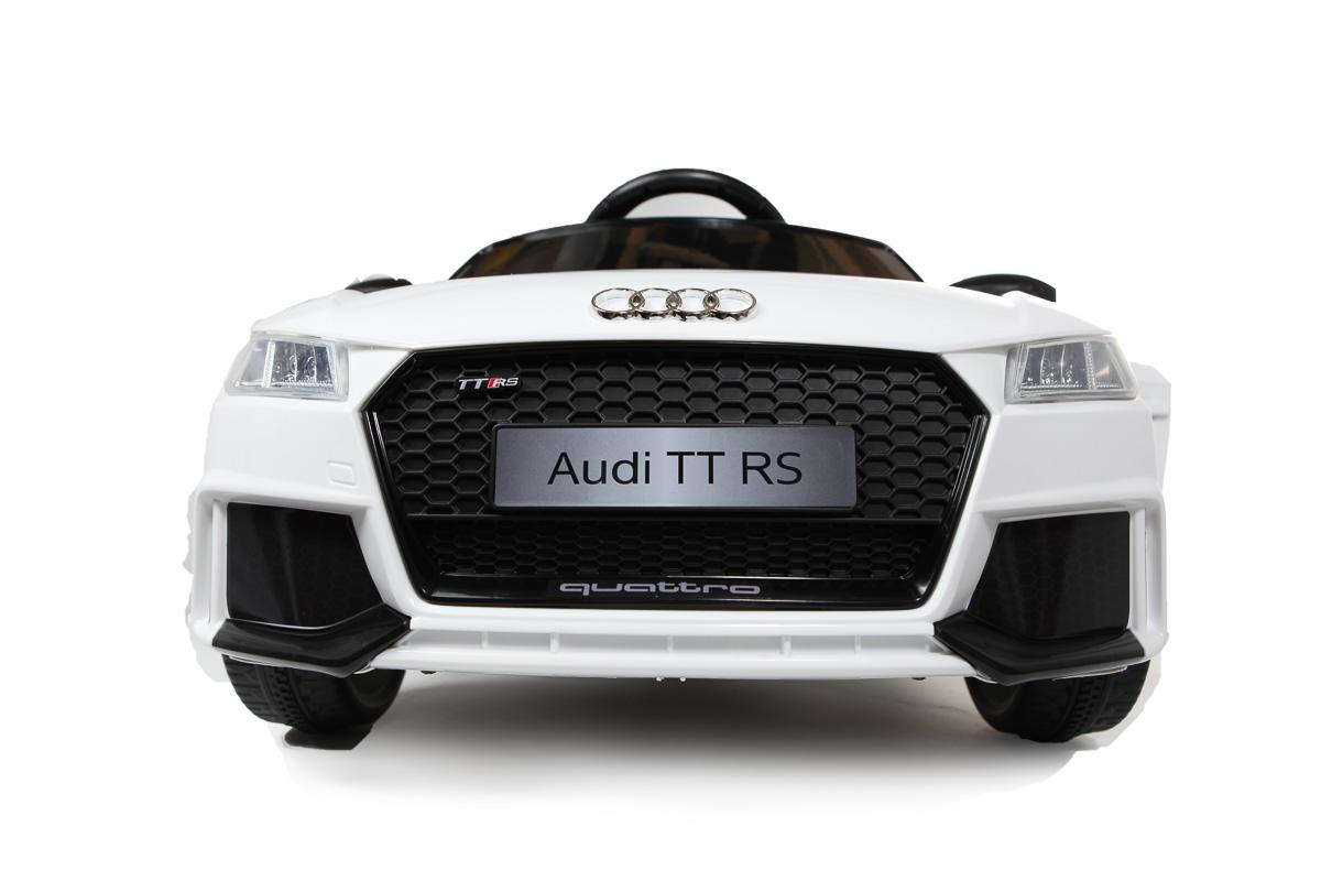 12V Licensed White Audi TT RS Battery Ride On Car