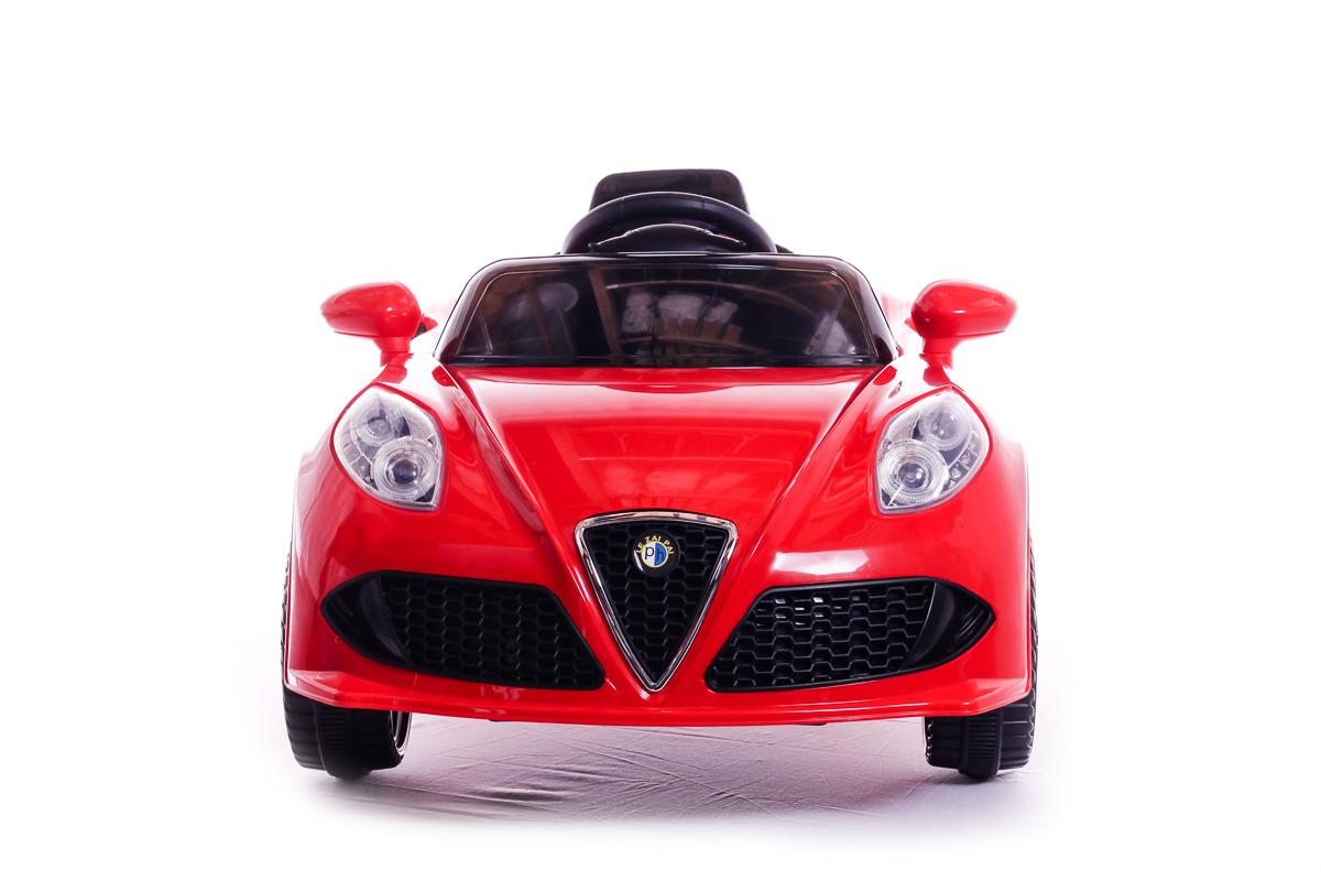 Battery Powered - 12V Red 4C Roadster Ride On Car
