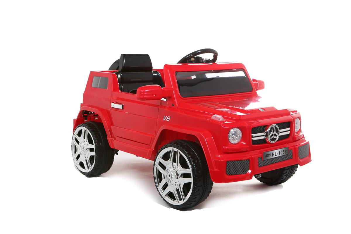 12V Red G-Wagon Battery Ride On Car