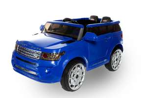 4x4 Blue Range Sport Off Roader - 12V Electric Ride On Car