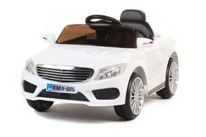 White S-Class Coupe - 12V Kids' Electric Ride On Car
