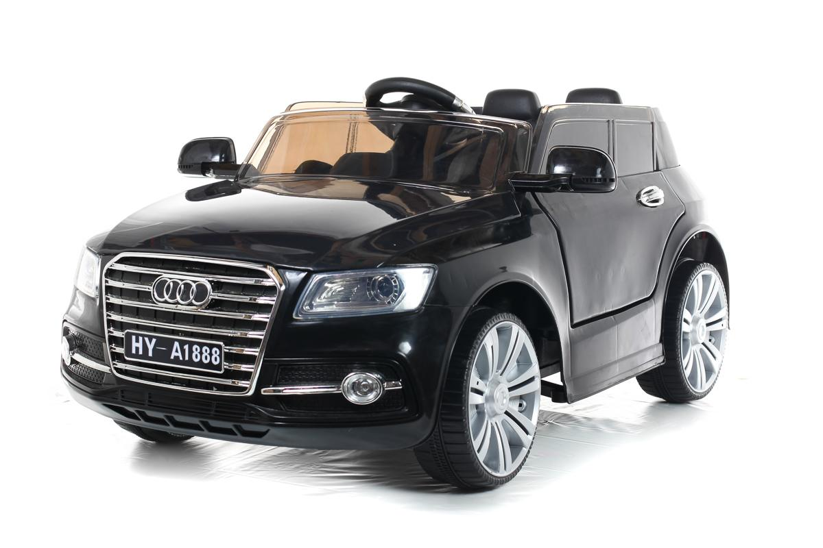 Battery Powered - 12V Black Q7 Ride On Car