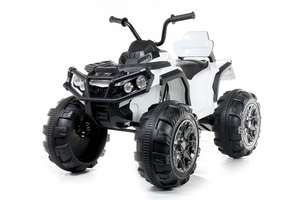 12V Twin Motor Quad - White