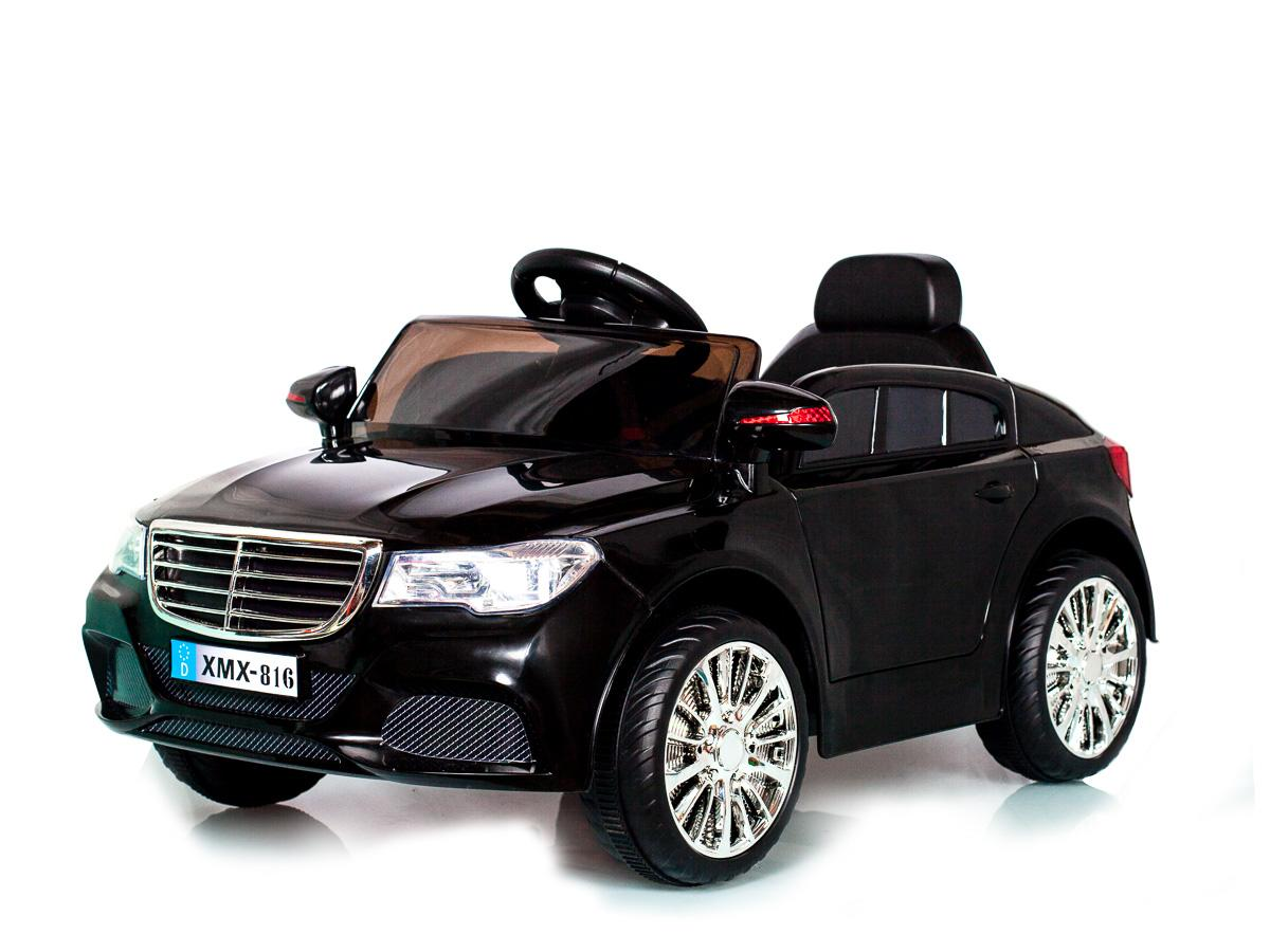 Black C Class Saloon - 12V Kids' Electric Ride On Car