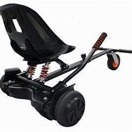 Limited Edition Racer Suspension Hoverkart Carbon Black
