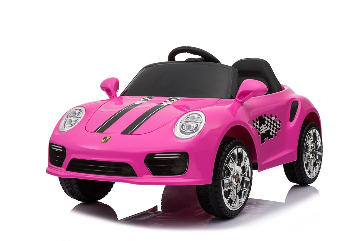 12V Pink Roadster Ride On Car