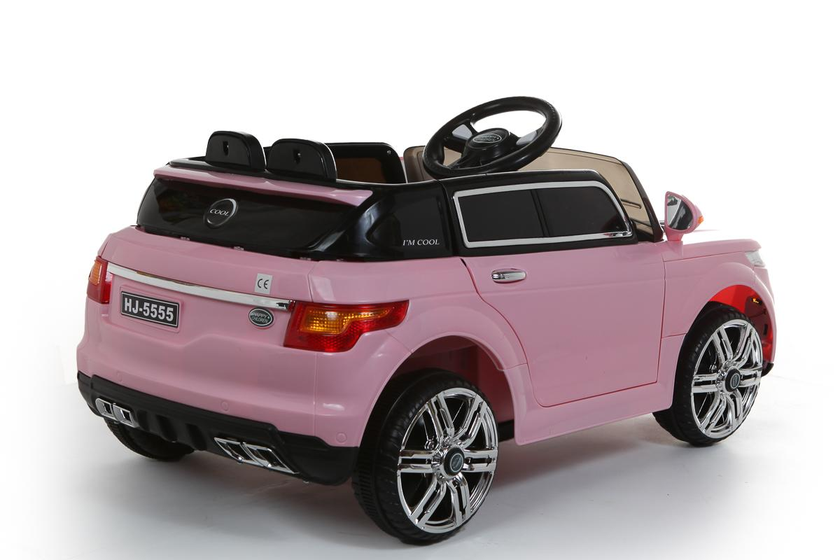 Pink Range Rover Style 12V Ride On Car