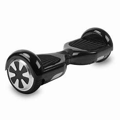 "H1- 6.5"" Carbon Black Bluetooth Segway Hoverboard"