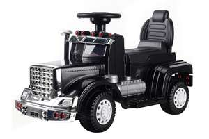 6V Ride On Truck Black