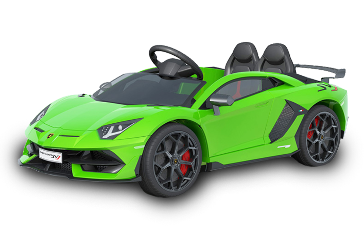 12V Licensed Lamborghini 2 Seater Ride On Car Green