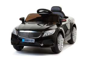 Black S-Class Coupe - 12V Kids' Electric Ride On Car