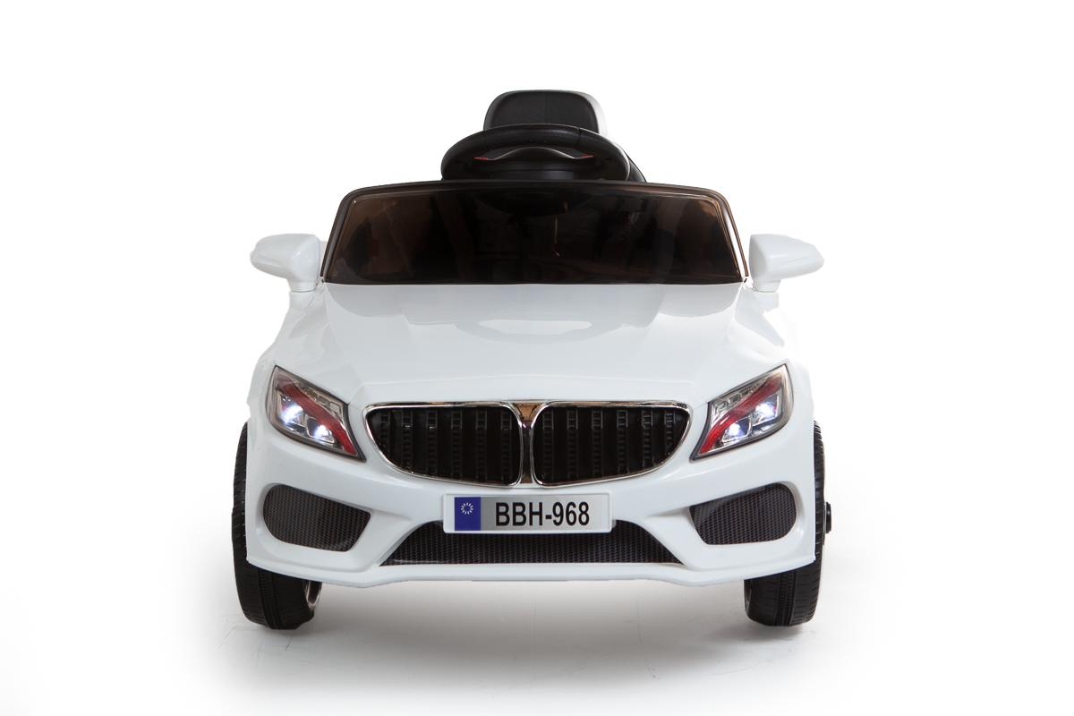 12V White 3 Series Saloon Ride On Car