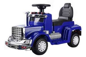 6V Ride On Truck Blue