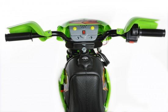Green Mini Motocross - 6V Kids' Electric Ride On Bike