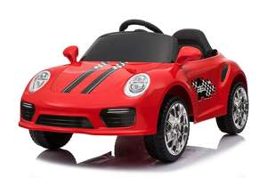 12V Red Roadster Ride On Car