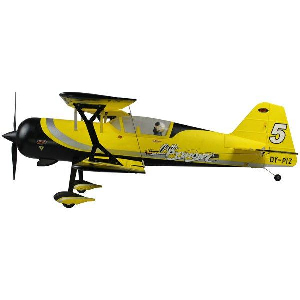 Dynam Pitts Model 12 Yellow 1070mm 42'' Wingspan RC Airplane PNP