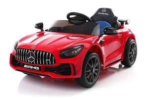 12V Licensed Mercedes GTR Ride On Car Red