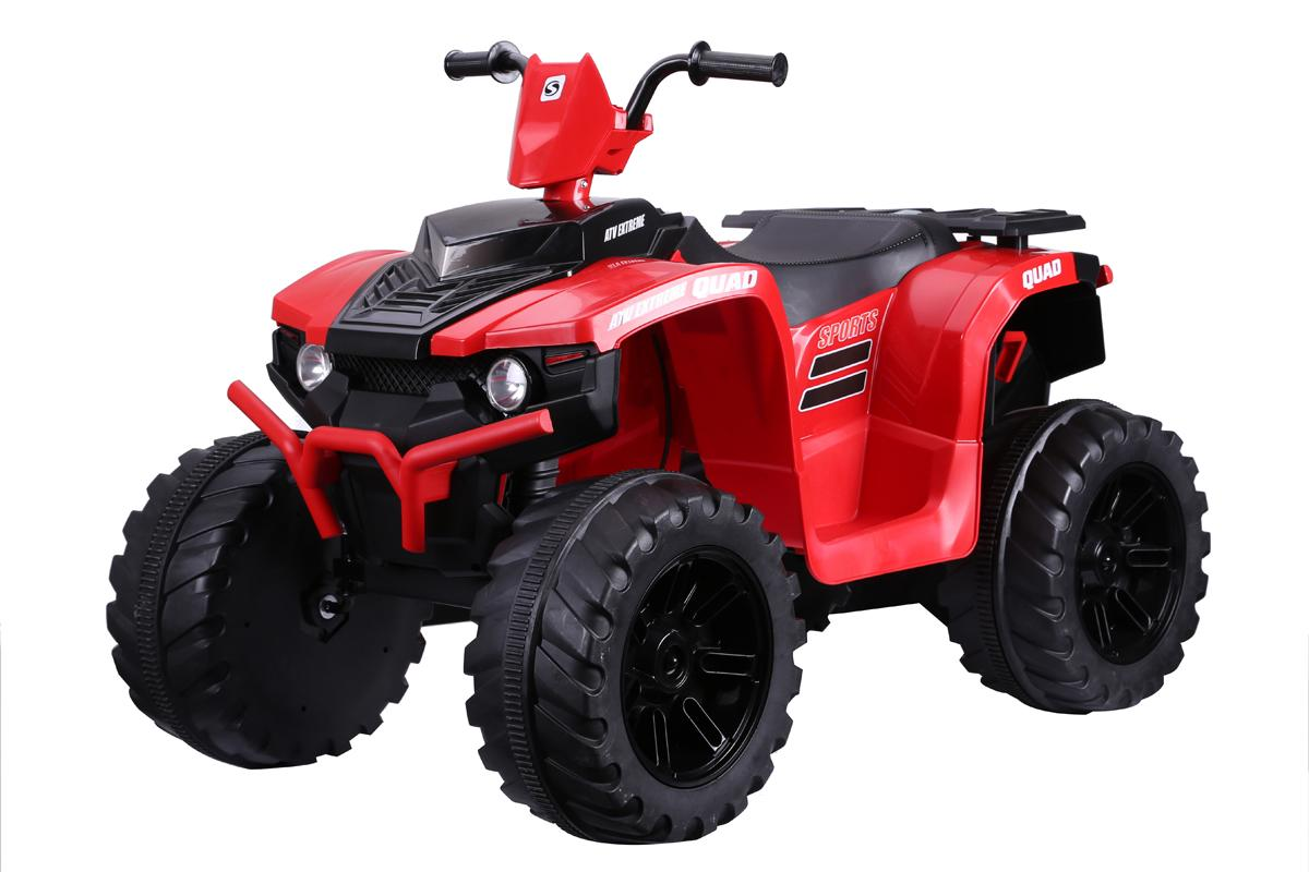 Twin Motor Quad Bike - Red