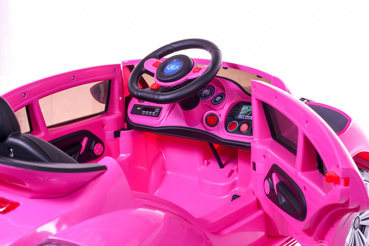 Battery Powered - 12V Pink Beetle Ride On Car