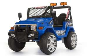 Blue 2 Seater 4x4 Truck - 12V Kids' Electric Ride On Car