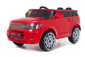 4x4 Red Range Sport Off Roader - 12V Electric Ride On Car