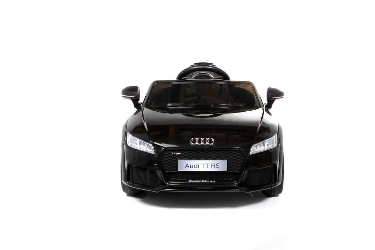 12V Licensed Black Audi TT RS Ride On Car