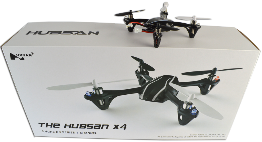 Hubsan X4 H107 Radio Controlled Quadcopter RTF 2.4Ghz