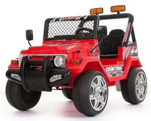 Red 2 Seater 4x4 Truck - 12V Kids' Electric Ride On Car