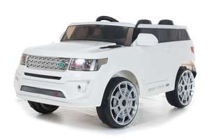 4x4 White Range Sport Off Roader - 12V Electric Ride On Car