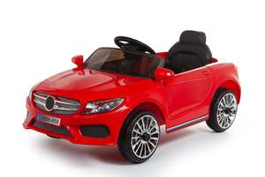 12V Red C Class Ride On Car