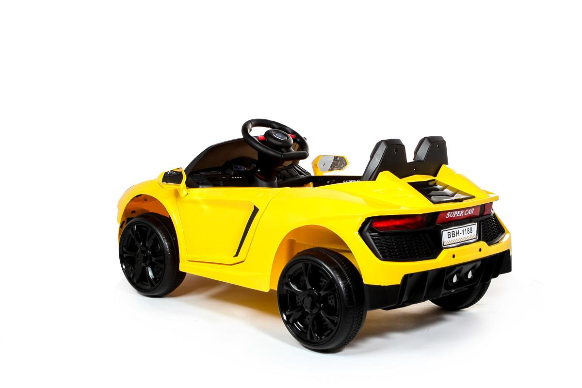 12V Yellow Roadster Battery Ride On Car