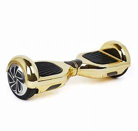 6.5 inch Gold Chrome Bluetooth Segway Hoverboard