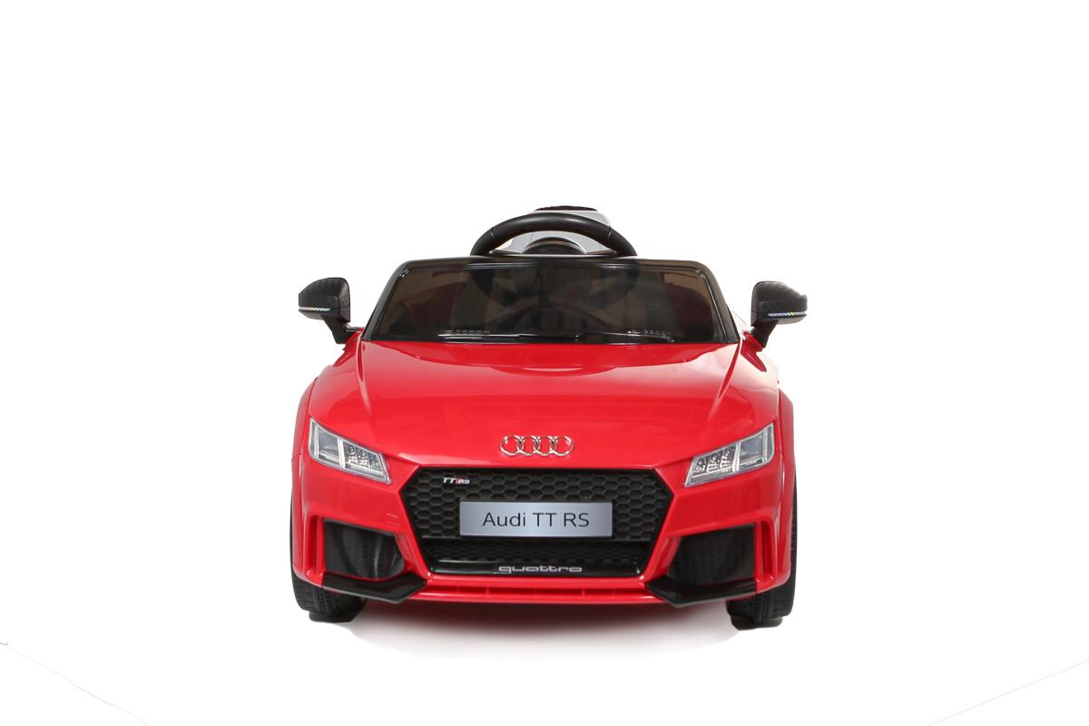 12V Licensed Red Audi TT RS Battery Ride On Car