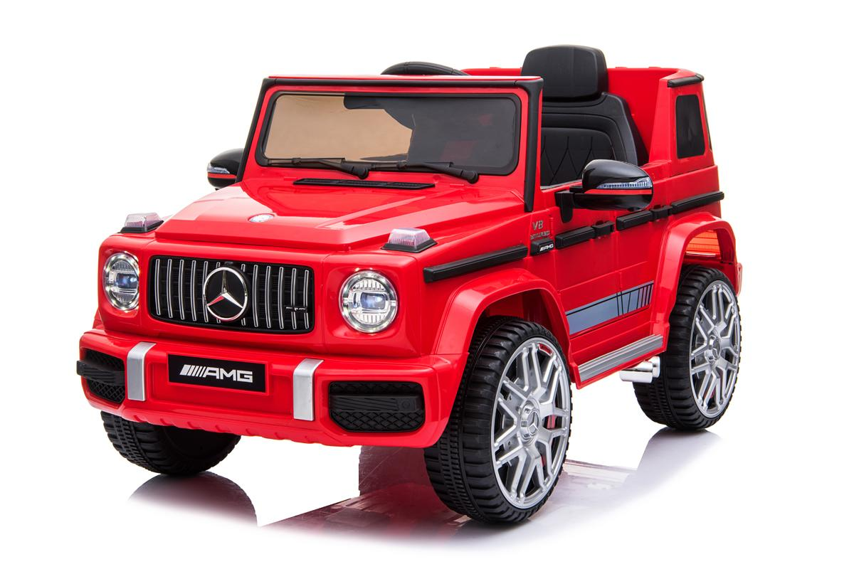 12V Licensed Mercedes G63 Ride On Car Red