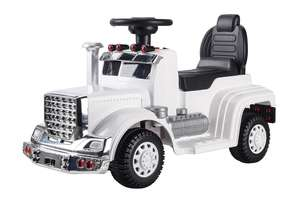6V Ride On Truck White