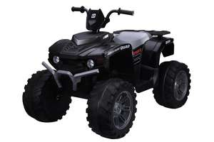 Twin Motor Quad Bike - Black