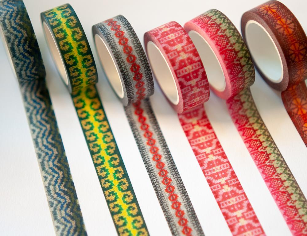 KNITSONIK washi tape