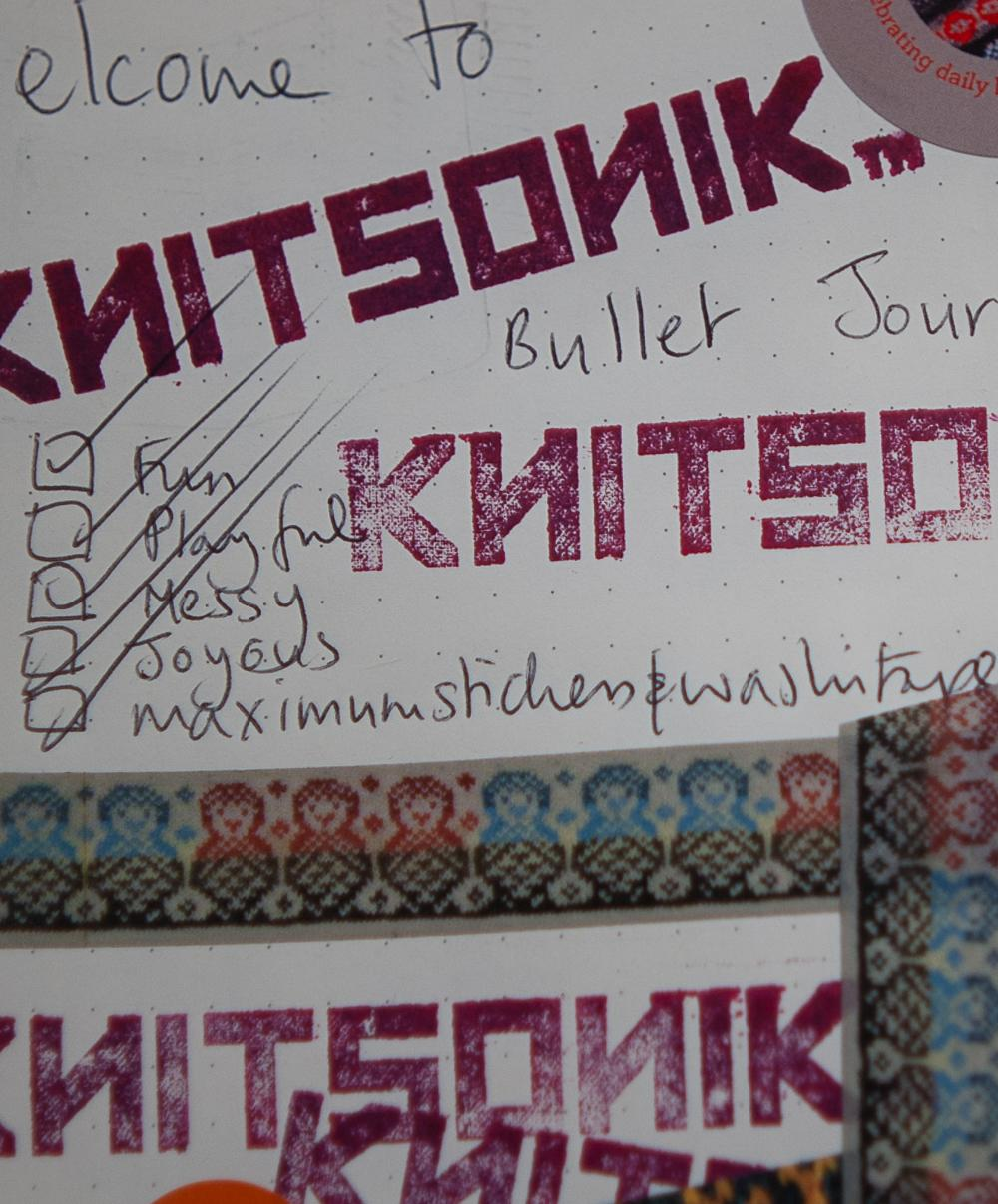 Image of KNITSONIK Bullet Journals