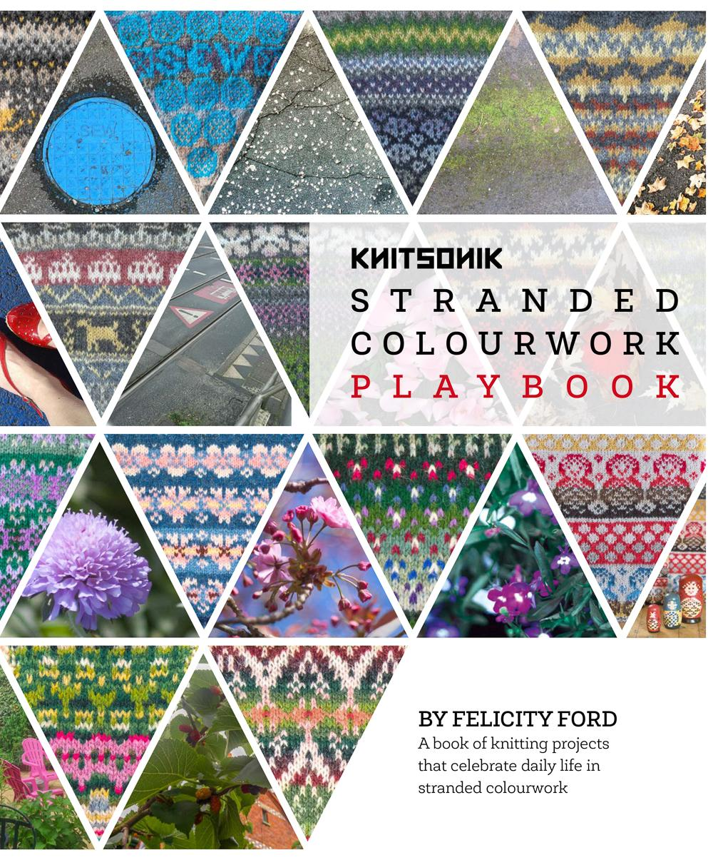 KNITSONIK Stranded Colourwork Playbook cover
