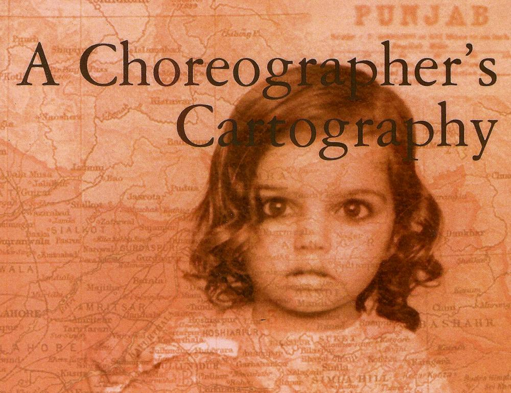 A Choreographer's Cartography by Raman Mundair