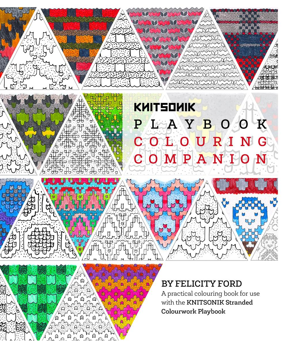 KNITSONIK Playbook Colouring Companion cover