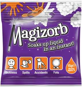 Magizorb 15g absorbent granules