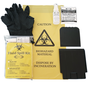 Contain-ER 1 application basic body fluid spill kit refill