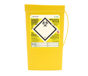 Contain-ER 0.45L sharps disposal bins - individual 41701430