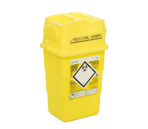 Contain-ER 1L sharps disposal bins - box of 100 41602430